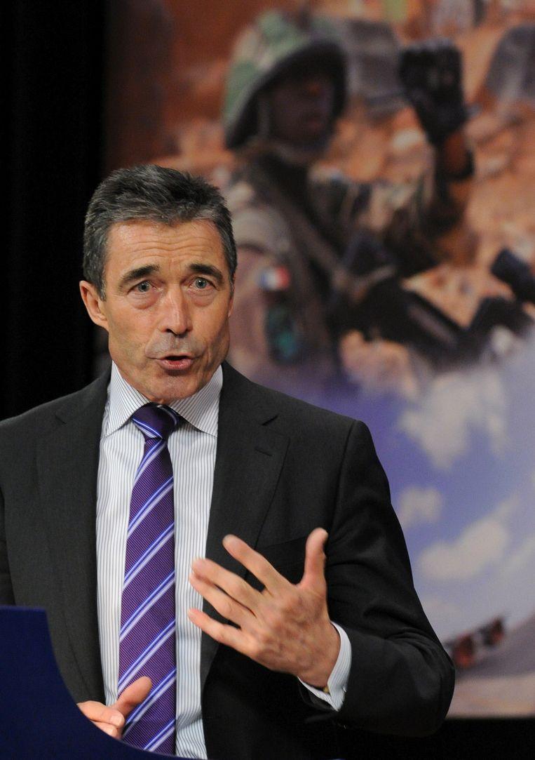 Anders Fogh Rasmussen, Secretaris-Generaal van de NAVO Beeld AFP