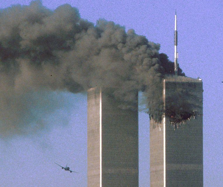 De aanslag op de Twin Towers. Beeld REUTERS