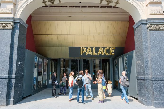 Cinema Palace op de Anspachlaan.