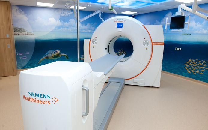 De nieuwe PET/CT-scan van het Canisius-Wilhelmina Ziekenhuis.