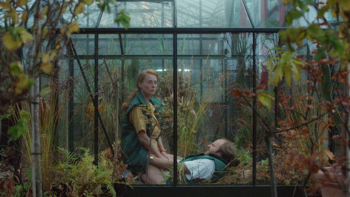 Still uit 'Botanica', de nieuwe korte film van de Limburgse regisseur Noël Loozen (1983), bekend van onder meer de geprezen films 'Spoetnik' en 'Limburgia'.