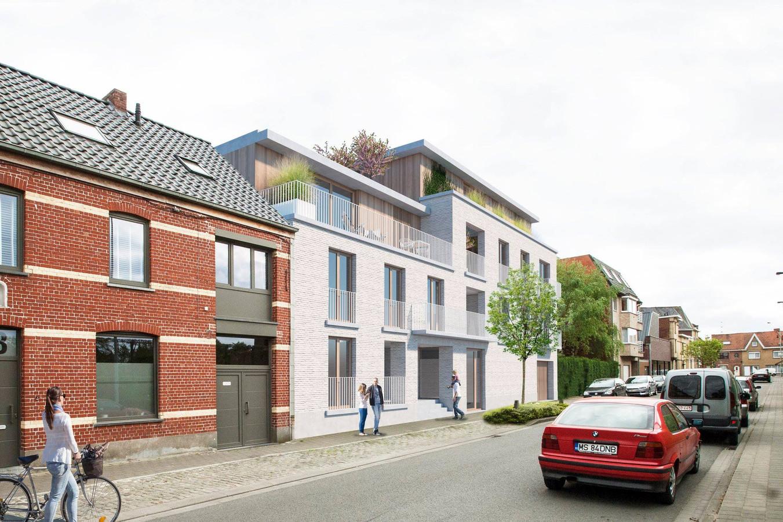 De nieuwbouw in de Koningsstraat.