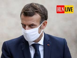 """LIVE. De Croo: """"Verstrengde maatregelen gelden vanaf middernacht voor heel het land"""" - Macron: """"Frankrijk vanaf vrijdag opnieuw in lockdown"""""""