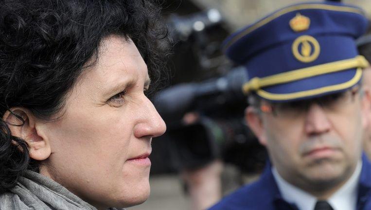 minister van Binnenlandse Zaken Annemie Turtelboom Beeld UNKNOWN