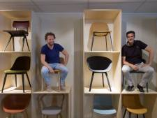 Joost en Jan-Noud zetten in op stoelen van nu: 'Jongeren hebben vaak al iets specifieks in hun hoofd'