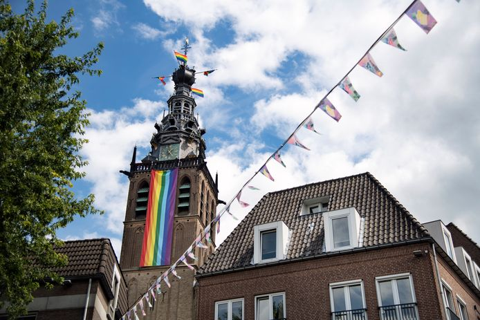 Roze Woensdag in Nijmegen.