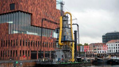 Graanzuiger 19 nog even in Antwerpen voor grote restauratie in Rotterdam