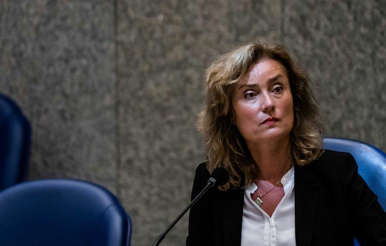 Kamervoorzitter Vera Bergkamp. Beeld ANP