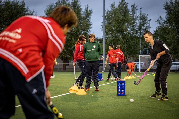 Bij HC Twente heeft G-hockey een vaste plek verworven.
