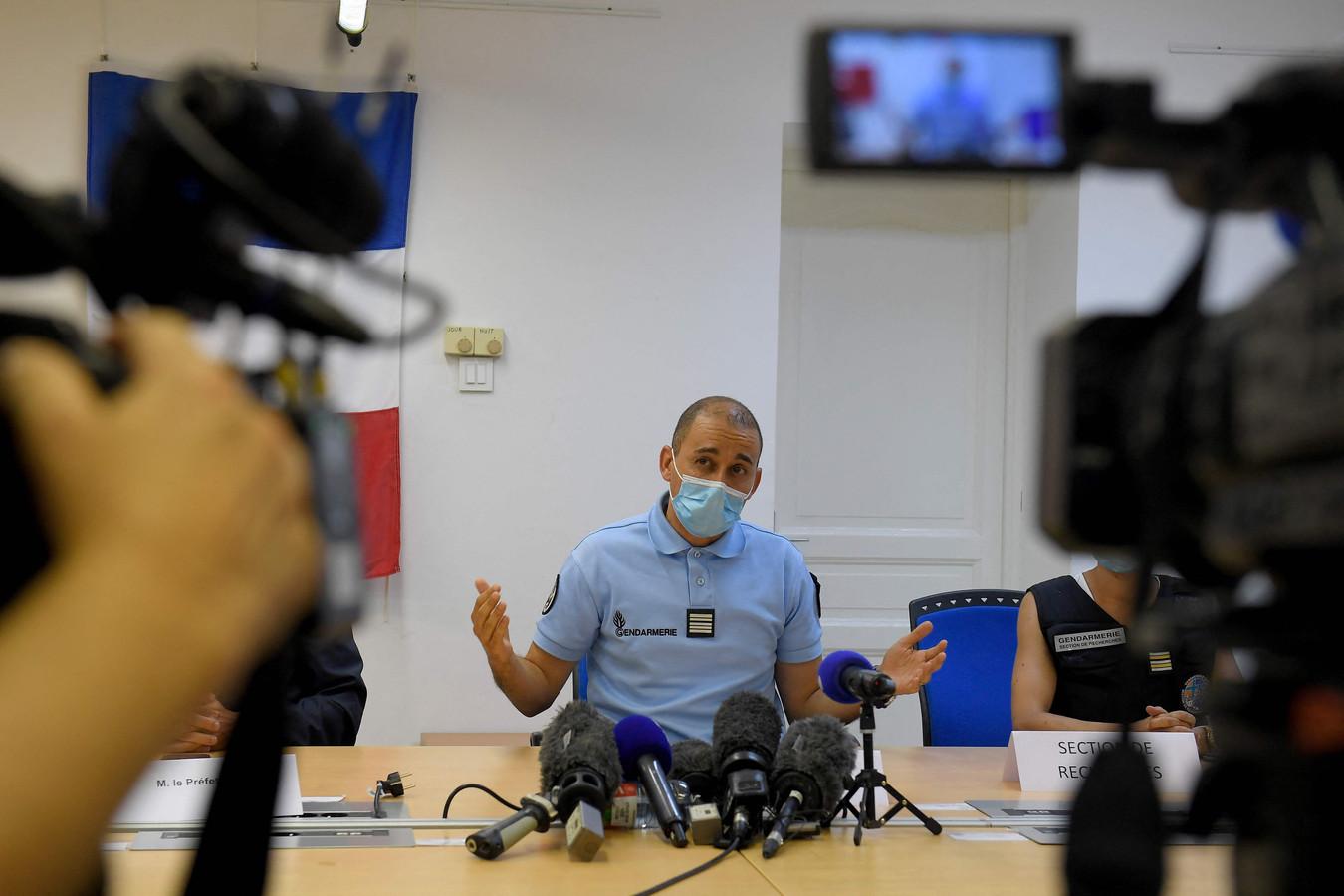 Nasser Boualam,  commandant du groupement de gendarmerie des Alpes-Maritimes.