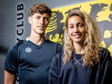 Broer en zus Omrani beginnen met HC Den Bosch aan play-offs: 'Uitgangsposities niet te vergelijken: zij moeten, wij mogen'