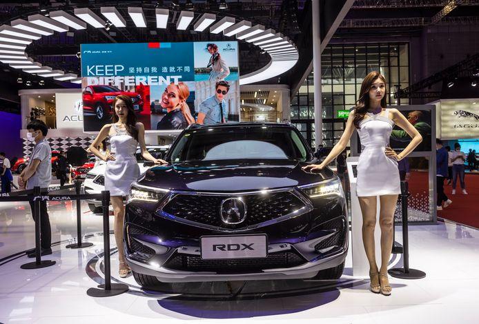 De 19de International Automobile Industry Exhibition in Sjanghai is van 24 tot 28 april voor het publiek geopend. Deze week waren de eerste dagen gereserveerd voor de pers en de autobranche.