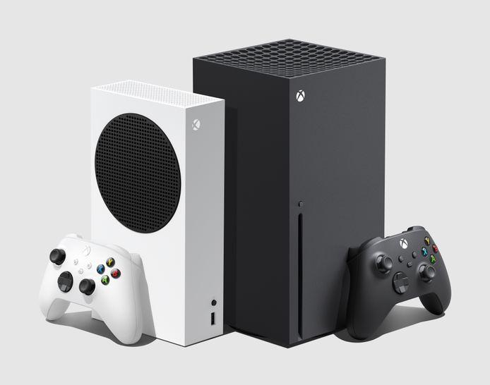 De twee Xbox Series-modellen: S en X.