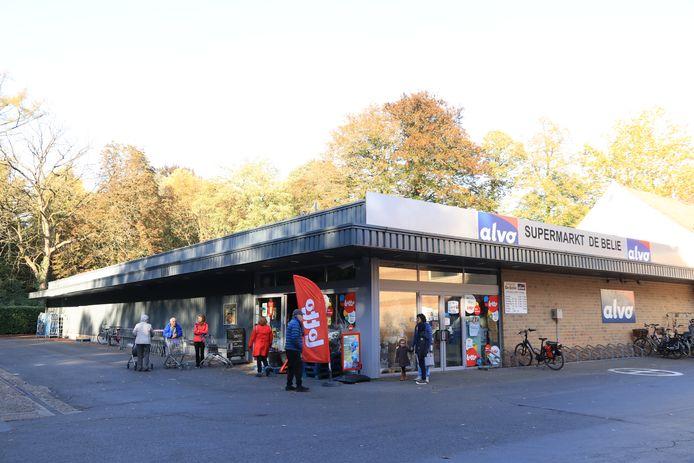 Supermarkt De Belie moest door de panne noodgedwongen even de deuren sluiten.