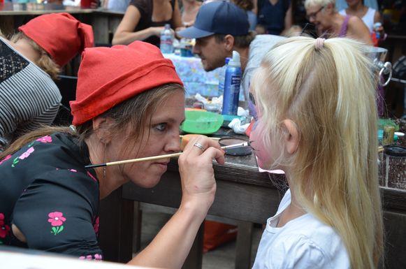 Het thema van de kindernamiddag van de Fonnefeesten was dit jaar 'kabouters'.