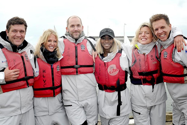 Deelnemers 'Over de oceaan' Beeld rv