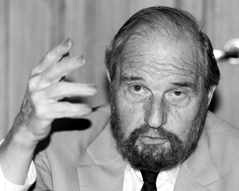 George Blake in 2001. Beeld Reuters