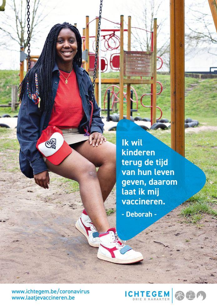 Zes inwoners van Ichtegem spelen een hoofdrol in een nieuwe vaccinatiecampagne: Deborah