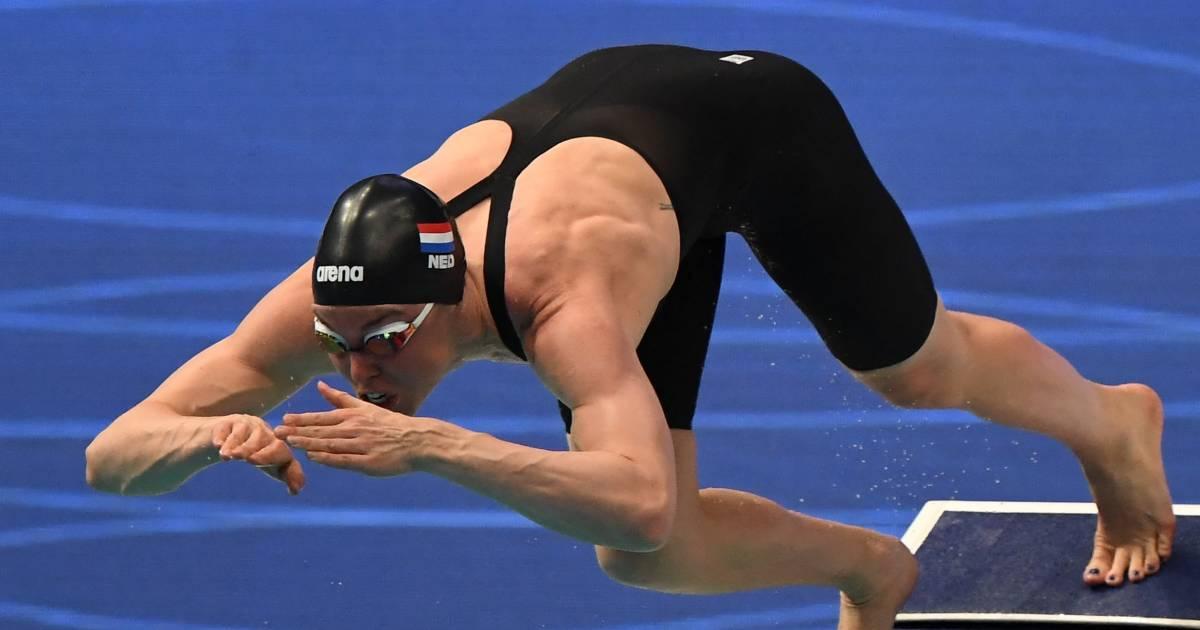 EK-zilver voor Nederlandse zwemsters op 4x100 vrij