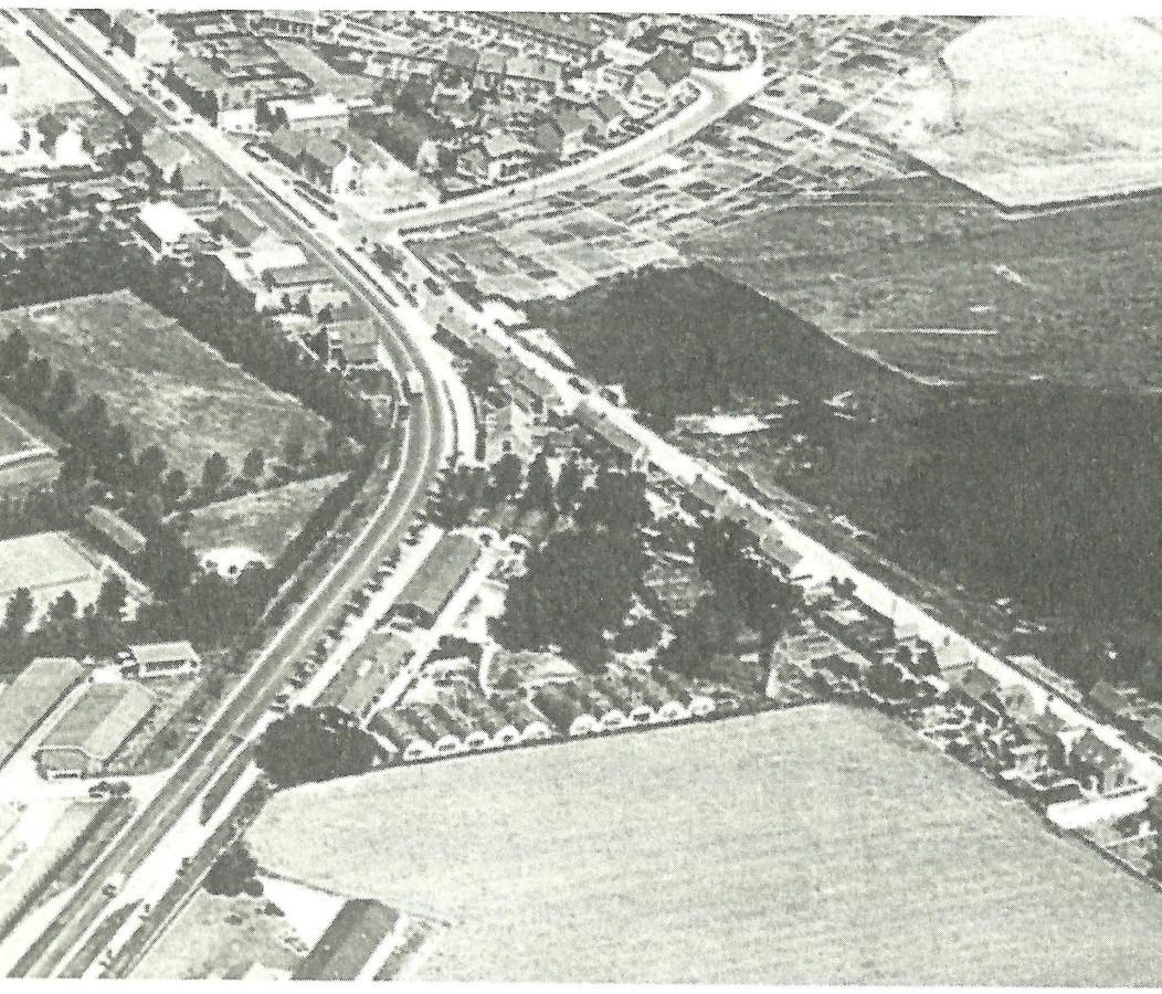 Woonoord Wilgenhof verrees begin jaren vijftig aan de zuidkant van Oostburg, in een driehoek waar de Nieuwstraat en de Grotendam in elkaar overgaan.