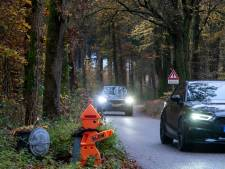 Roep om veiliger maken van bosweg tussen Vierhouten en Emst klinkt steeds luider