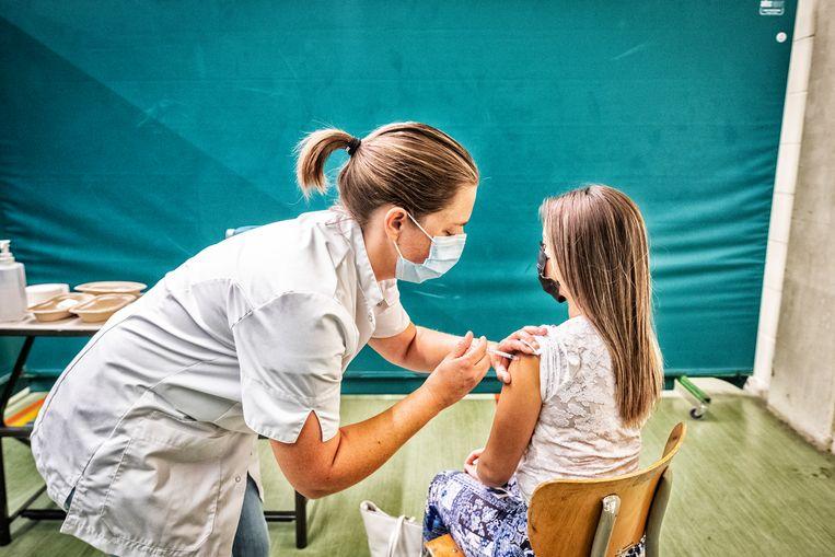 Het Pfizer/BioNTech-vaccin is ook veilig en effectief voor 5- tot 11-jarigen Beeld Tim Dirven