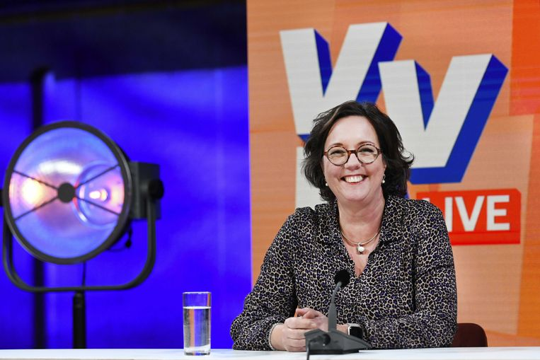 Minister Tamara van Ark (medische zorg en sport). Beeld ANP