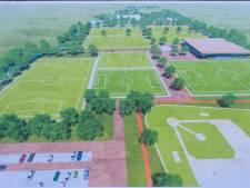 Streep door nieuw multifunctioneel sportpark Maassluis-West