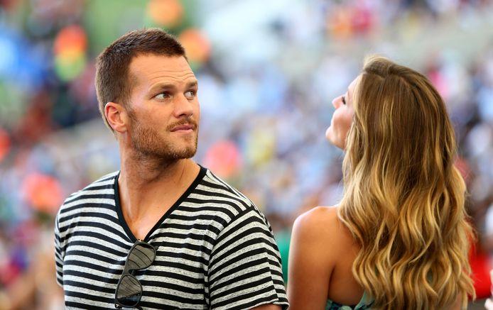 Tom Brady en Gisele Bündchen