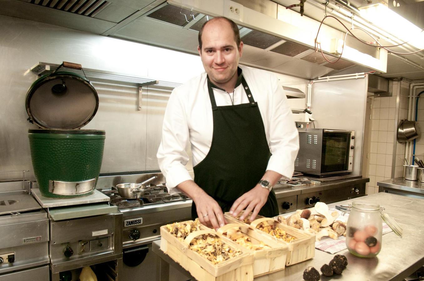Archiefbeeld - Paul-Henri Cuvelier van restaurant Paul de Pierre.