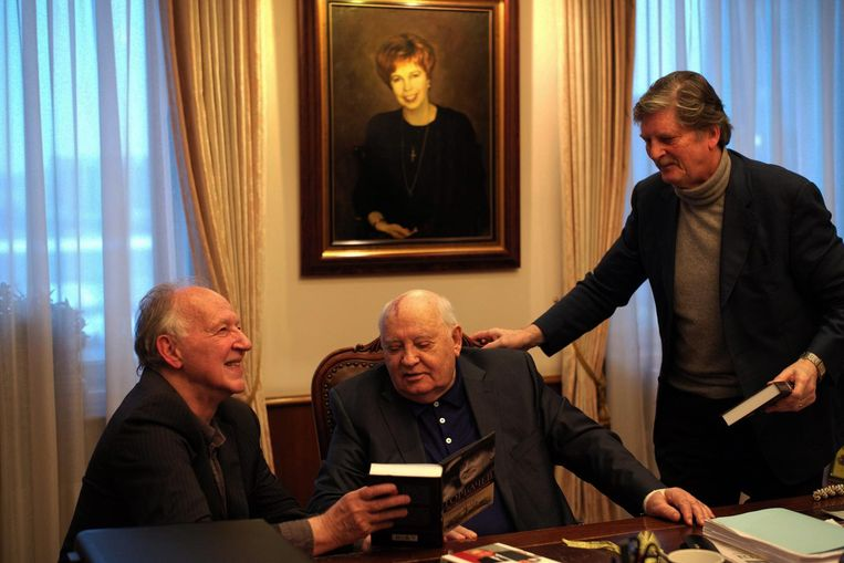 Meeting Gorbachev Beeld -