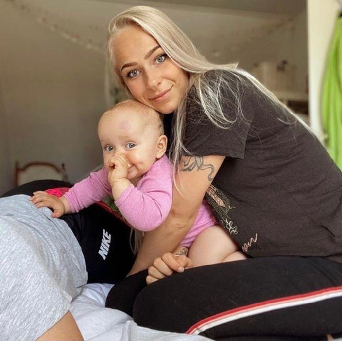 Lenne met haar dochter