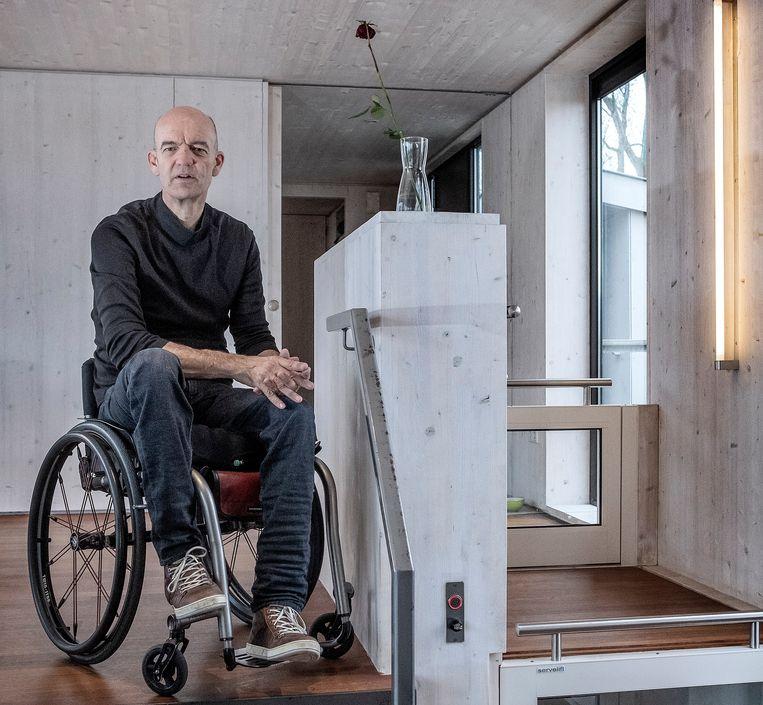 Ed. Bijman: 'Slimme oplossingen hoeven niet duurder te zijn. Ook hoeft niet heel Nederland drempelvrij te zijn.' Beeld Patrick Post