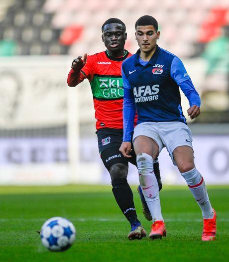 Iedereen gunt NEC's sfeermaker Terry Lartey Sanniez zijn basisplaats: 'Jong Ajax-uit is bijzonder'
