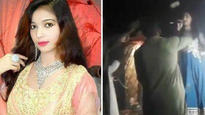 Zwangere zangeres doodgeschoten op podium omdat ze weigerde te dansen voor schutter