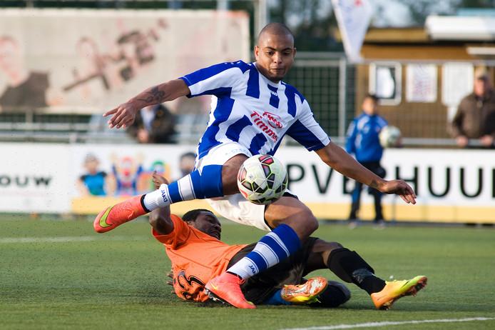 FC Lienden-spits Rafael Uiterloo.