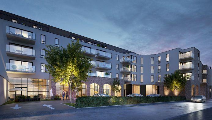 Zo zal het nieuwe woonproject er gaan uitzien. Het Kantkwartier moet voltooid zijn in de tweede helft van 2020.