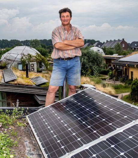 Voedselpionier Fransjan de Waard vindt rust in Olst: 'Vroeger werkte ik altijd, maar dat red ik niet meer'