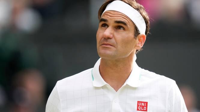 Ook Roger Federer past voor Olympische Spelen: knieblessure nekt Zwitser