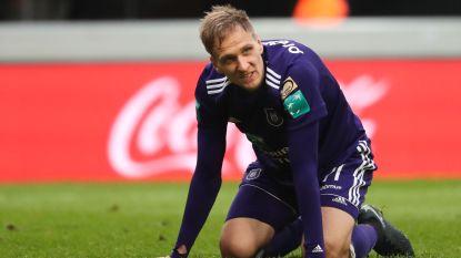 Anderlecht meteen tegen het canvas: 0-2 tegen AA Gent