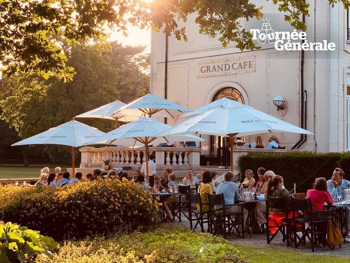Grand Café Den Brandt in Park Den Brandt in Wilrijk.