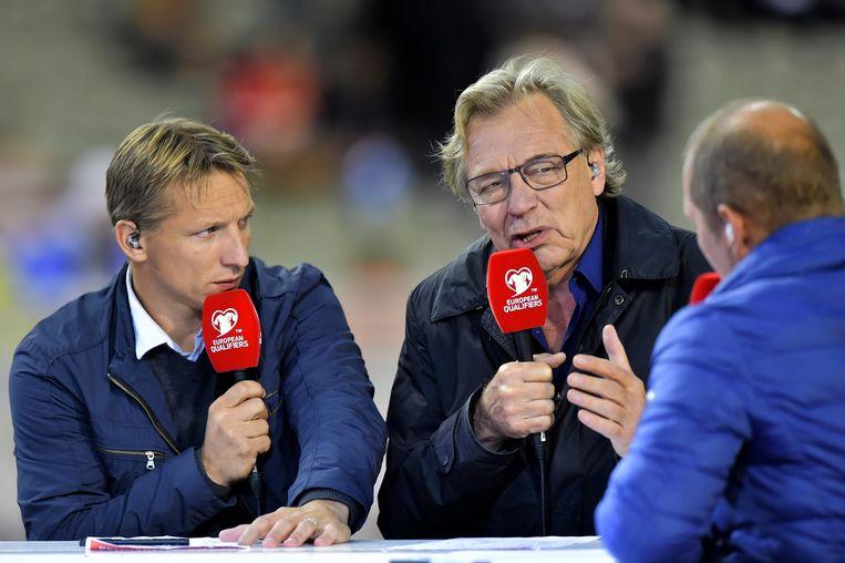 Jan Mulder and Wesley Sonck geven geregeld hun visie over een match van de nationale ploeg.