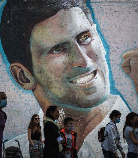 De roots van Novak Djokovic: in Belgrado is de vraag wie de grootste is al lang beantwoord