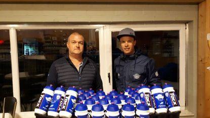 FC Destelbergen voert milieuvriendelijk drinkflessen in