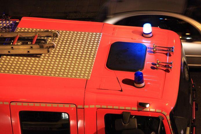 Camion  112 du service incendie de Charleroi