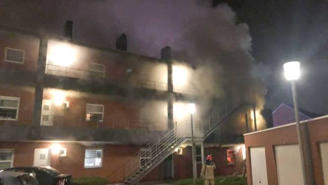 50 appartementsbewoners geëvacueerd voor brand in Gavere: politie arresteert flatbewoonster voor brandstichting