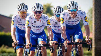 """Deceuninck-Quick.Step organiseert over 2 weken stage  in Vlaamse Ardennen: """"Belangrijk om groep eens samen te brengen"""""""