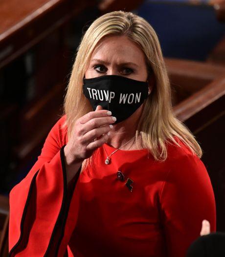 Trump-aanhanger zorgt voor ene na andere rel in parlement VS: 'Zij hoort daar niet'