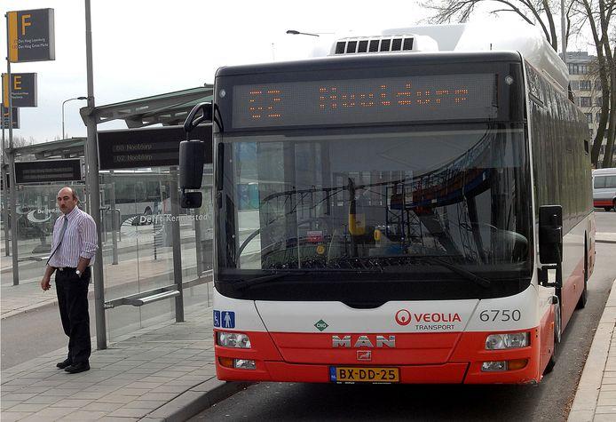 Buslijn 62.
