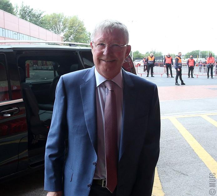 Alex Ferguson terug bij Manchester United